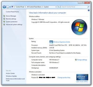 32 bit 64 bit Windows 7