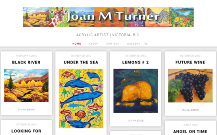 Joan M Turner | Local Victorian Artist