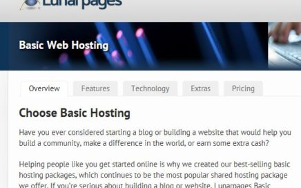 Lunarpages Web Hosting