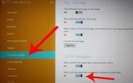 Windows 8 disable swipe gestures