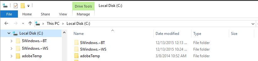Windows 10 Show Hidden Files 1