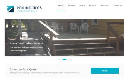 Rolling Tides Construction Victoria BC